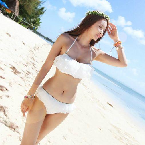 Korean girl in bikini