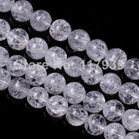 mais jóias fazendo venda por atacado-Atacado Pure Natural branco mais claro cristal de quartzo Um 6-12mm Frizzling Rock pipoca de pedra solta pérolas jóias fazendo fábrica