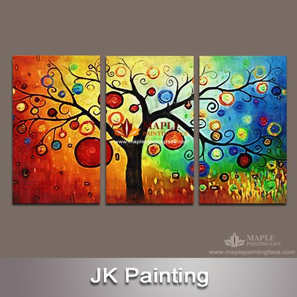 Delightful Hot Sales 3 Piece Wall Art Painting Pictures