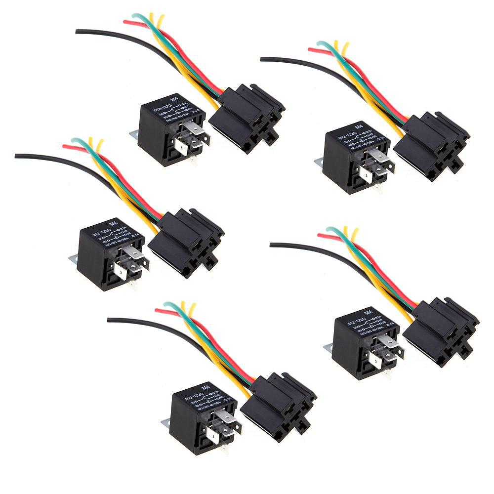 12v Volt Spdt Relay Wire Socket Car Automotive Alarm 40 Amp 30 40a Price Accessories For Dashboard Interior From Hodhfan1