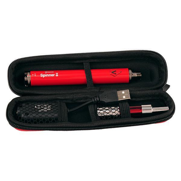 2015 New Mini protank3 electronic cigarette zipper starter kits with mini protank 3 atomizer 650 900 1100mah 1600mah vision spinner battery