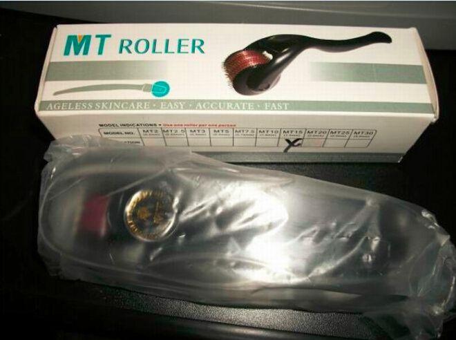 MT Dermaローラー540医療ステンレス鋼/チタン合金針Dermarollerマイクロニードルローラー瘢痕除去0.2mm-3.0mm