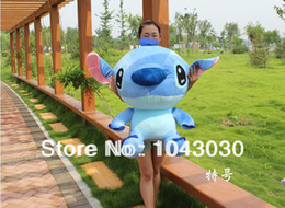 Wholesale Stitch Dolls For Sales - Wholesale-MN-Hot sale 50cm Big Large Stitch Plush Toys High Quality Cartoon Stuffed Toys Dolls Best Gift for girl friend