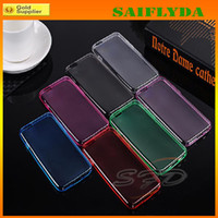 Wholesale Iphone5 Case Super - Super Slim TPU soft silicon case cover shell for iphone5 iphone 5 5S for iphone 4 4s iphone 6