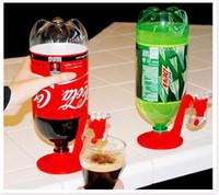 Wholesale Soda Water Dispense Gadget - 2014 Party Fizz Saver Soda Dispenser Drinking Dispense Gadget Use w 2 Liter Bottle ruytry Beverage bottle Inversion Water dispenser