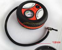 car tire pump großhandel-Neuer heißer Verkauf 1x beweglicher Minireifen-Inflator-Luftkompressor-Auto-Selbstpumpe 260PSI geben Verschiffen frei