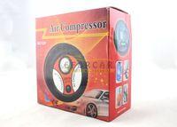 kompresörler otomatik toptan satış-Yeni Taşınabilir Mini Elektrikli Lastik / Lastik Şişirme Hava Kompresörü Araba Oto Pompa 260PSI DC12V ücretsiz kargo