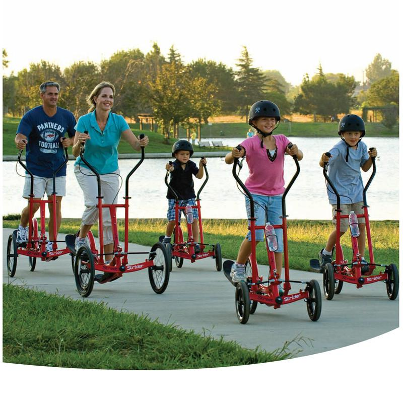 Complete Bicycles With Three Wheels No Saddle Walker Exercise