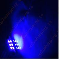 "Wholesale 42mm Festoon Bulb Blue - 50 x Xenon Blue 1.72"" 42mm 6-SMD Festoon LED Bulbs For Dome Map Light 211-2 578"