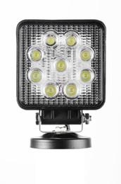 Wholesale Cheap Led Kits - Nice 2PCS LOT Epistar LEDs 9*3W 3200LM 9-30V 27W tractor offroad LED work light,working lamp,Fog light kit,cheap shipping