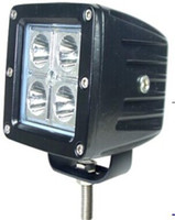 Wholesale Led Car 16w - NEW 2PCs Lot 4*4W CREE LED 16w Car LED Work Light DC 9-32V 6000K spot Beam 30degree Waterproof IP67 led Working light