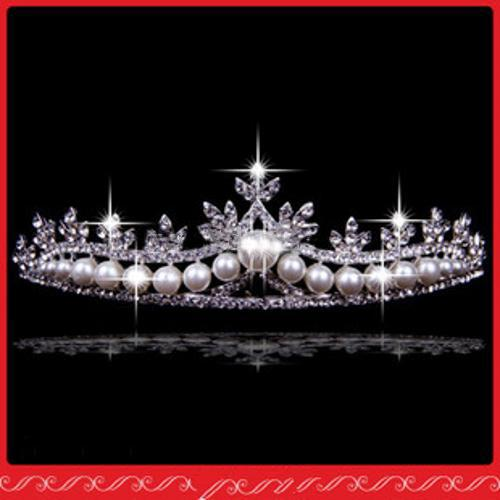 2014 più economico vendita calda splendente impinge corone di nozze gioielli di cristallo fermagli capelli da sposa diademi pettine
