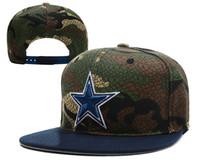 Wholesale Cheap Wholesale Camo Hats - Cowboys Snapbacks Hat Football Snapback Caps Cheap Snap Backs Hats Camo Snap Back Cap Sports Caps Flat Cap Women and Men Swag Hat Mix Order