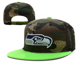 Wholesale Cheap Wholesale Camo Hats - Camo Team Snapbacks Cheap Football Caps Fluorescence Brim Flat Caps 2014 Newest Sports Caps Men Cap Women Hats Snap Back Hat for Sale