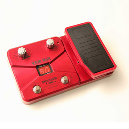 Original Boutique Mooer vem box guitar effects with pedal red Vocal Multi-Effects Processor free shipping
