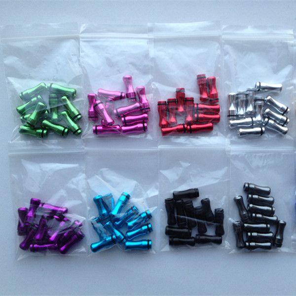 Colorful 510 Rainbow Drip Tips Metallo Bocchini 510 DCT CE5 CE6 Nova Atomizzatore Clearomizer Sigaretta elettronica
