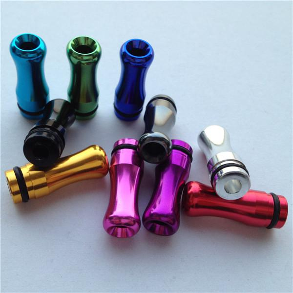 Bunte 510 Regenbogen Tropfspitzen Metall Mundstücke für 510 DCT CE5 CE6 Nova Zerstäuber Clearomizer Elektronische Zigarette