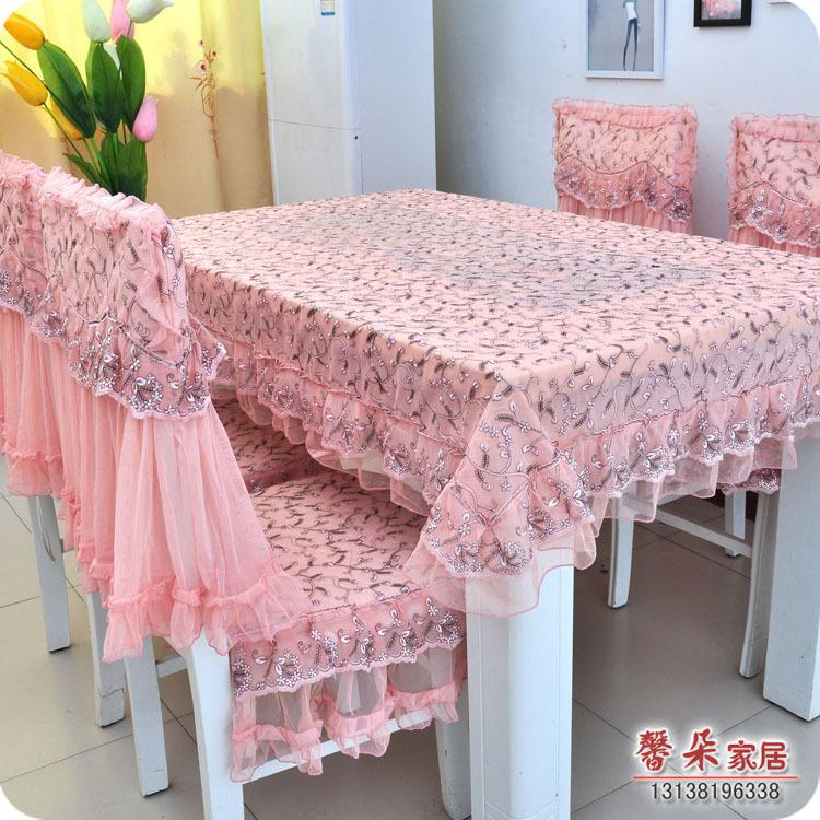 The New High End Fabric Lace Table Cloth Table Cloth Chair Dining
