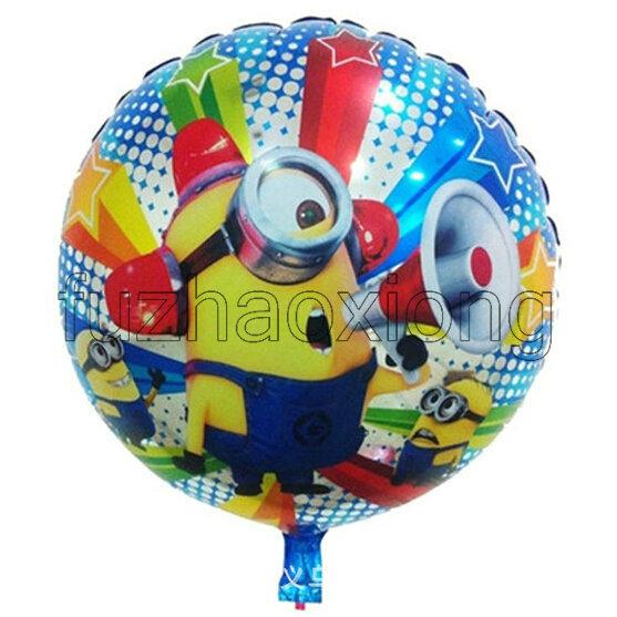 DESPICABLE ME 2 FOIL MYLAR BALLOON ~ Birthday Party Supplies Minions Helium