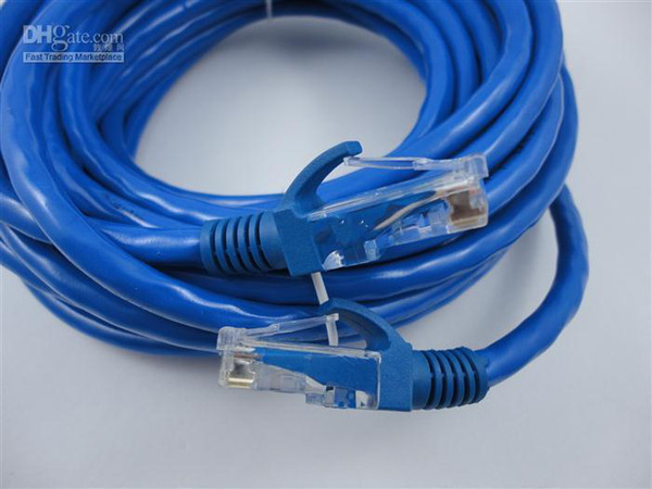best selling Wholesale - DHL-FREE CAT6 cat 6 RJ45 Ethernet Network Patch Cable CAT6 network cable