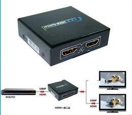 Mode chaude 3D HDMI Splitter 1X2 diviser une entrée HDMI 2 Sortie HDMI avec adaptateur d'alimentation ? partir de fabricateur