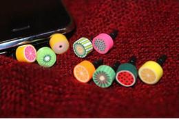 Wholesale Mobile Dust - 3.5mm mobile smart cell-phone earphones headphones jack dust cap plug for iPhone