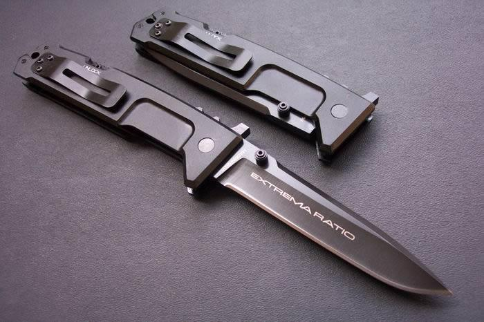 Special offers EXTREMA RATIO Nemesis knife 440C 58HRC Blade Outdoor survival knife knives New in original paper box packing Collectable