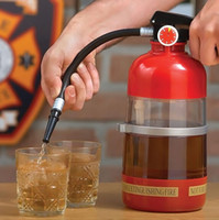 Wholesale Plastic Toy Fire Extinguisher - Creative wine beer machine hand-pressure fire extinguisher fun filled bar drinking game party toys GIFTS