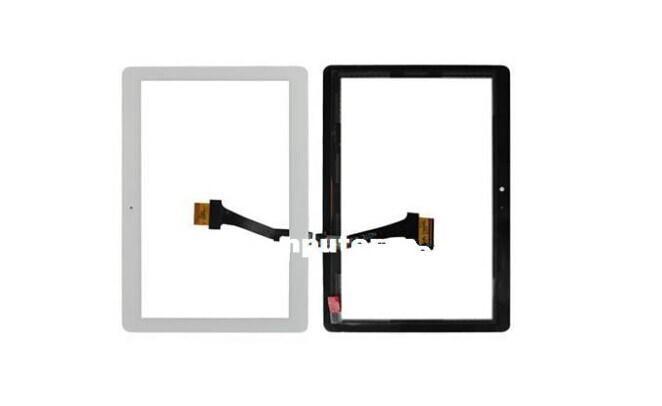 بالجملة - الأصل جديد لمس الشاشة محول الأرقام زجاج أجزاء لسامسونج غالاكسي Tab2 P5100 أسود / أبيض
