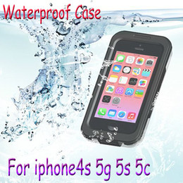 Wholesale Water Proof Iphone 5c Cases - Waterproof 8 Meters Diving Case Water Proof Case Cover Shockproof for iphone6 4.7 plus 4s 5g 5s 5c with Retail Pack For iphone 6 1pcs free