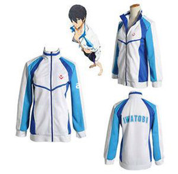 $enCountryForm.capitalKeyWord Canada - Wholesale -Free! Iwatobi Swim Club Haruka Nanase School Sprot Coat Jacket Cosplay Costume#U027