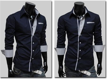 NUOVE magliette adatte di colore 4 della camicia del muscolo della camicia del vestito dal progettista casuale alla moda di lusso popolare di modo trasporto libero di colore