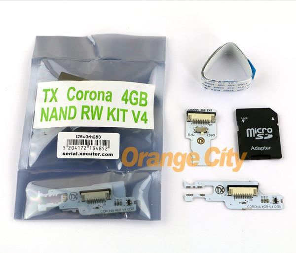 top popular TX CORONA 4GB NAND RW KIT 4GB SD For Xbox 360 (QSB V4) OEM CHINA 2021