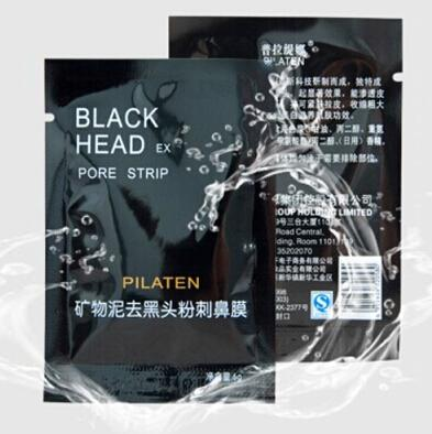 Pilaten Mineral Mud Nose Point noir Pore Strip hommes femmes Nettoyant Enlèvement Nettoyant Membranes Bandes Remover Masque Peelings