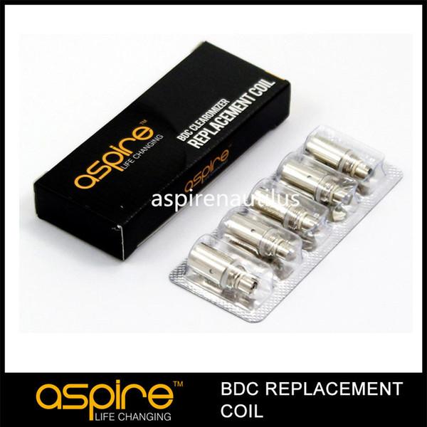 Authentique Aspire K1 / K2 / ET / ET-ET / S / CE5 / CE5-S BDC bobines tête 1,6 / 1,8 / 2,1 ohms atomiseurs de remplacement
