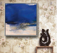 Hand Painted Abstract Decor Oil Painting on Canvas for Home ...