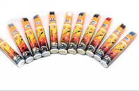 Wholesale Touch Up Paint Wholesale - 10Pcs Lot Car Auto Scratching Repair Touch Up Paint Pen White Black Silver 3 Colors Free Shipping
