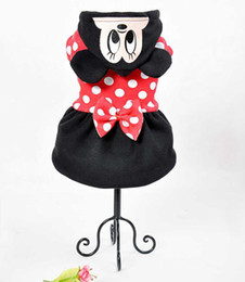 Wholesale Cheap Big Dog Clothes - Small & Big Pet Dog Clothes Minnie Dresses Skirt Clothing For Dogs Cheap Wholesale Supply Retail Free Shipping+ Dog Apprael