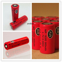 Wholesale Cheap Mechanical Mod E Cig - AW IMR 18350 18490 18500 18650 LI-MN high drain battery for Mechanical Mods Itaste Vamo Electronic Cigarette e cig kits cheap