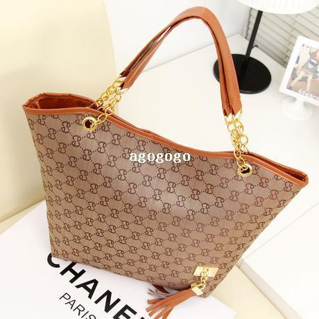 fe4529220d 2014 New Women Handbags Trend PU Fashion Women Bags Chain Women ...