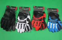 Wholesale Long Black Motorcycle Gloves - 2014 new arrival Dirtpaw cross-country motorcycle gloves mountain bike racing breathable antiskid long refers to the hand 5 colors M L XL