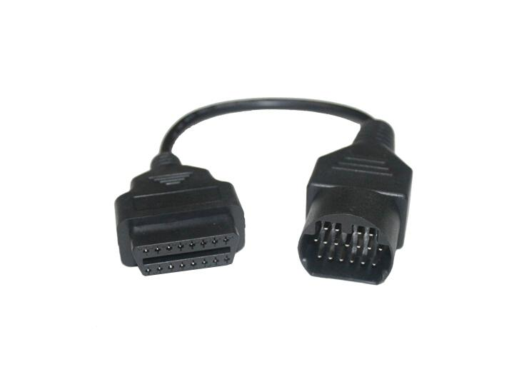 Mazda 17Pin Cable Car Diagnostic Cables And Connectors Mazda 17Pin OBD2 Adaptor OBD2 Cable For Mazda
