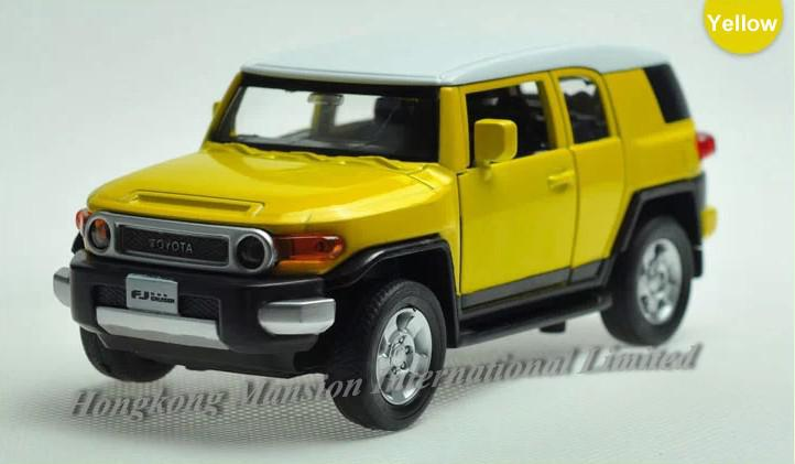 Alloy Diecast Car Model For The Toyota Fj Cruiser Toy