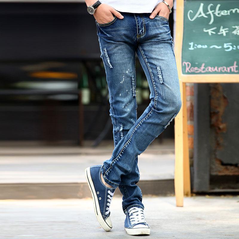 2019 Hot Sales Tight Jeans Men Jeans Korean Design Design For Men