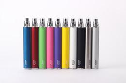 Wholesale Electronic Cigarette Battery Large - Vision spinner colorful e cig Ego-c twist battery electronic cigarette vision spinner large capacity for vivi nova V2 CE4 CE5 Mt3 X9 H2