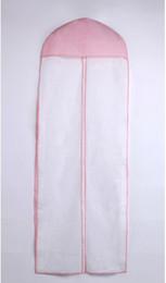Freie Verschiffen-heiße verkaufende Brautqualitäts-auf lagerweiße und rosafarbene Hochzeits-Kleid-Beutel-zusätzliche Art- und Weiseneuankömmling von Fabrikanten