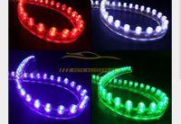 beleuchtung extern großhandel-InteriorExternal Lights 10x Side 24CM LED Flexible Auto Grill Streifen Licht Wasserdicht Kostenloser Versand Hot New Good