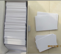 Carta in PVC stampabile a getto d'inchiostro da 230 pz / lotto per stampante Espon, stampante Canon