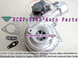 $enCountryForm.capitalKeyWord Canada - With Electric Actuator Solenoid Valve Turbocharger CT16V 17201-30110 17201-OL040 For TOYOTA Hilux Landcruiser ViIGO3000 1KD-FTV 1KD FTV 3.0L