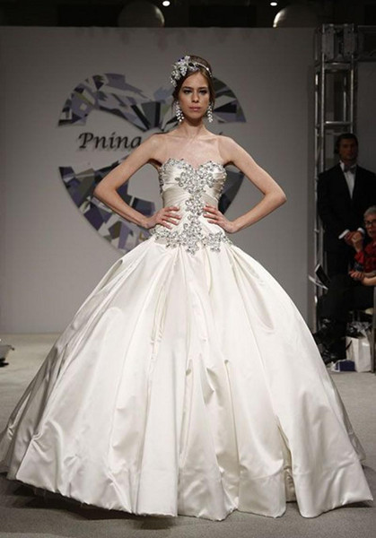 Trendy Design Ivory Sparkle 2014 Spring Pnina Tornai Dress ...